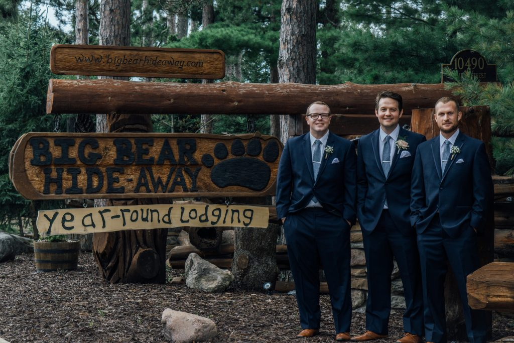 Groomsman Big Bear Sign